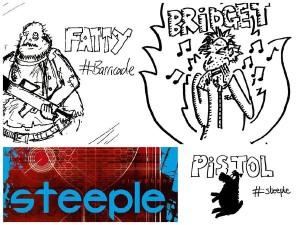 Steeple giveaway doodle Jon Wallace
