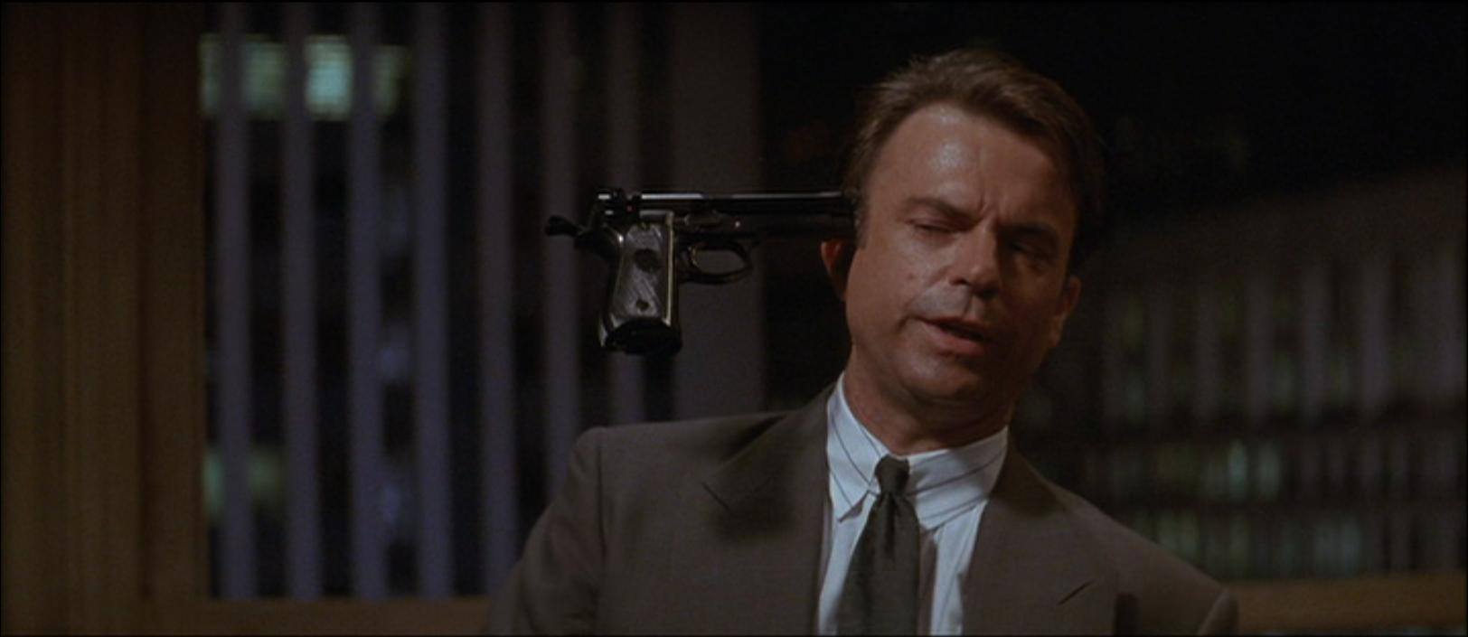 Sam Neill in Memoirs of an Invisible Man